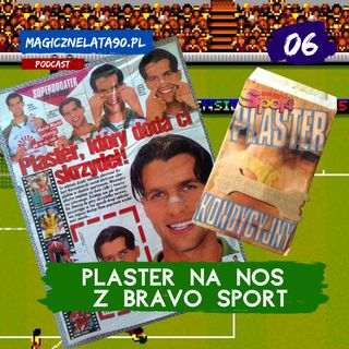 06 Plaster kondycyjny na nos z Bravo Sport