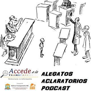 Alegatos Aclaratorios - Ley Nacional de Extinción de Dominio Parte II