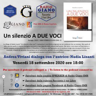 UN SILENZIO A DUE VOCI | Andrea Viviani dialoga con l'autrice : Nadia Lisanti
