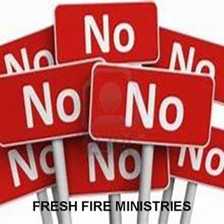 Why God Says NO