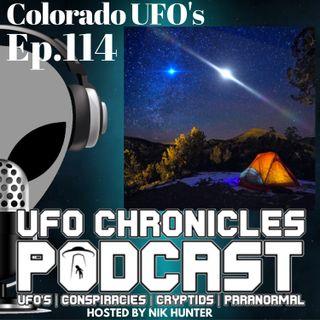 Ep.114 Colorado UFO's