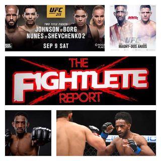 UFC215 Neil Magny Fightlete Report Interview