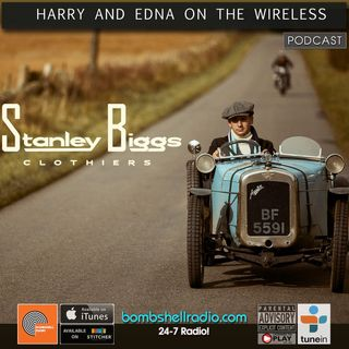 Harry and Edna on the Wireless ~ Sophie Bainbridge from Stanley Biggs Clothing