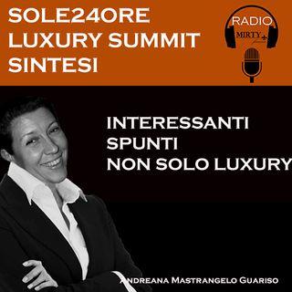 Sole24Ore Luxury Summit 13 Maggio 2021