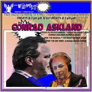 MiXTAPES:17 w/ dj d-phoenix: Special Guest  CONRAD ASKLAND (CIRQUE DU SOLEIL, PRAY THE GAY AWAY- A SERIOUS MUSICAL COMEDY)