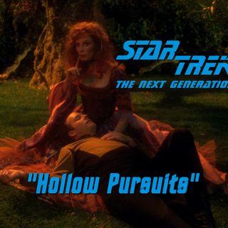 "Season 6, Episode 7 ""Hollow Pursuits"" (TNG) with Sasha Wood of Casually Comics"