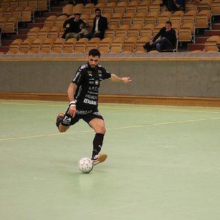 Senad Berisha från ÖFC inför semifinalen