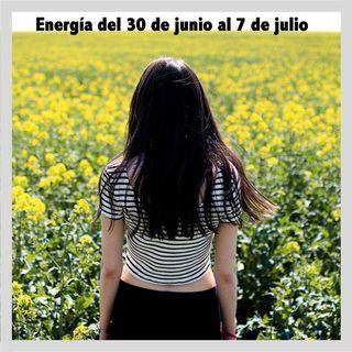 Energía de la semana 27 Año 2019: Del 30/06 hasta el 06/07
