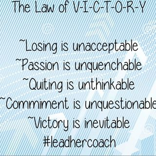 Law #15 The Law of Victory