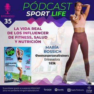 Conociendo a María Rossich, influencer de fitness (@womanpersonaltrainers)