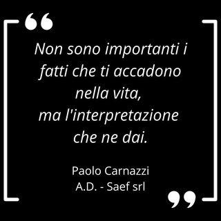 La coerenza crea bellezza, la storia di Paolo Carnazzi
