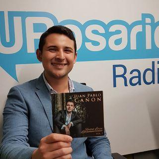 La nueva promesa de la lírica en Colombia, Juan Pablo Cañón, visitó URosarioRadio