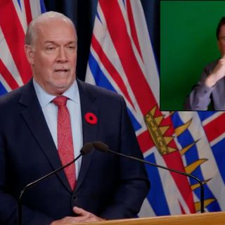 John Horgan December 15 2020 media update for BC