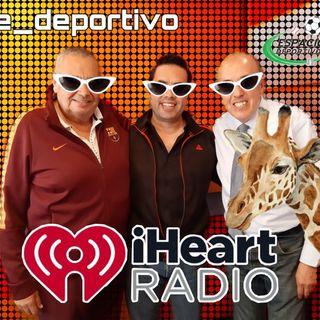 Llegamos al Viernes, no hayamos donde meter..... a la jirafa Espacio Deportivo de la Tarde 27 de Septiembre 2019