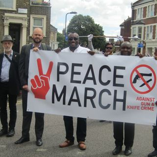 Hackney SDA Church Peace March Against Gun and Knife Crime - Ayodeji Adeoshun (Hackney Council Youth Leadership Manager)