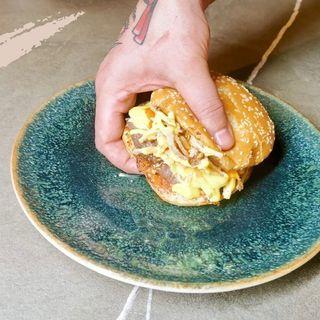 Hamburger Gourmet albacio
