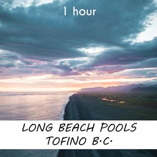 Long Beach, Tofino   1 hour RIVER Sound Podcast   White Noise   ASMR sounds for deep Sleep   Relax   Meditation   Colicky