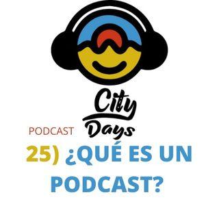 25) ¿que es un podcast?