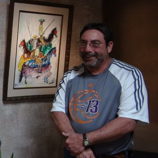 Artist Ted DeGrazia Paints Padre Kino - Lance Laber on Big Blend Radio