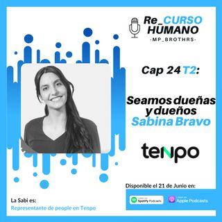 E24_T2 Sabina Bravo - Seamos Dueñas y Dueños