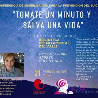 NUESTRO OXÍGENO Tomate un minuto y salva una vida - Leonor Adriana Diaz