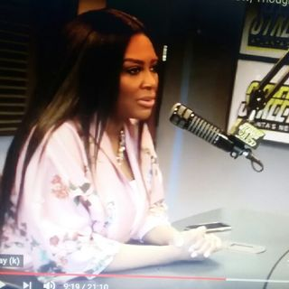 Kenya Moore Interview/Rhoa News