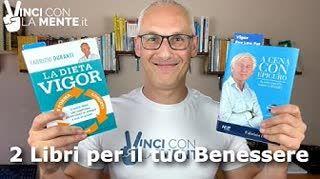 Dieta Vigor e A Cena con Epicuro (2 libri di Fabrizio Duranti)