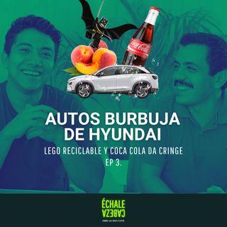 E3 - Autos burbuja, LEGO reciclable y Cocacola da CRINGE | échale cabeza🙃
