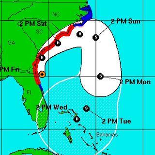 Hurricane Matthew Now Category 3