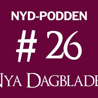 NyD-podden #26 – Migrationskrisen i Europa, nya EU-lagar, Kaspersky och salafism i Sverige