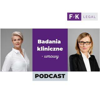 Podcast Badania Kliniczne - umowy