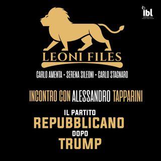 Il Partito Repubblicano dopo Trump. Incontro con Alessandro Tapparini - LeoniFiles