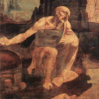 Muzea Watykańskie #8 - Leonardo da Vinci - święty Hieronim na pustyni