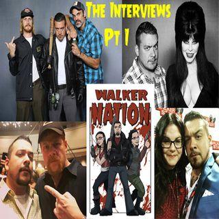 Ep 143.5 - The Interviews Part I - Michael Cudlitz, Ann Mahoney, Steven Ogg & Austin Amelio, and Elvira