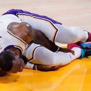 #lebronjames Injured High ANKLE Sprain |■#LAKERS Losing Streak & #NBA Free Agency | #realsportstimewithDMarl #nba #freeagency #lakers