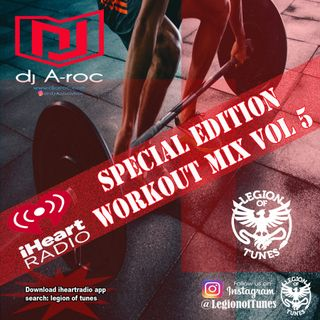 DJ A-roc Workout Vol 5    60 min mix for Cardio, Crossfit and training