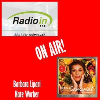 Barbara Lipari e Kate Worker con Mafalda Minnozzi a Radio In
