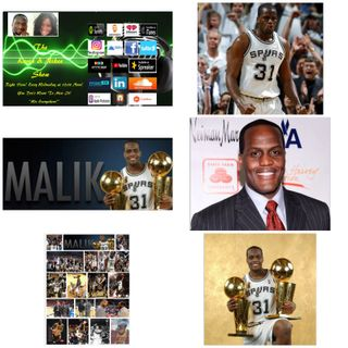 The Kevin & Nikee Show  - Black History Month - Malik Rose - 2x NBA Champion, Former Sportscaster, Asst. GM and VP of Basketball Operations