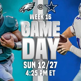 Episode -2 Eagles vs cowboys what I think