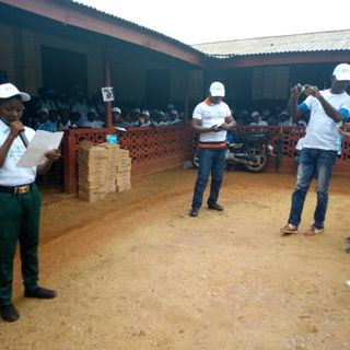 At Global Hand Washing Event: Student urged citizens To Make Hand Washing usual