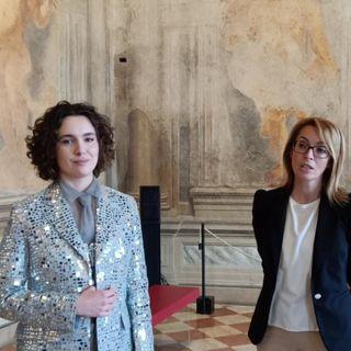 """Madame al Teatro Olimpico di Vicenza per il videoclip di """"Voce"""""""