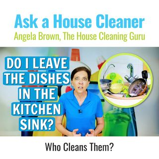Dishes In the Kitchen Sink - Should Homeowners Clean Them?