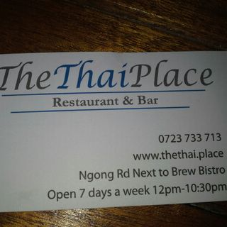 When Opportunity Knocks: The Thai Place Nairobi