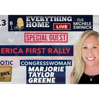 Congresswoman Marjorie Taylor Greene - America First Rally & The Radical Left
