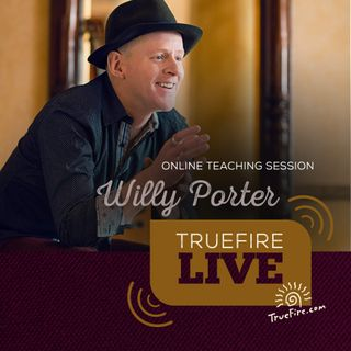 Willy Porter - Singer-Songwriter Guitar Lessons, Q&A, and Performances
