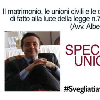 SPECIALE UNIONI CIVILI - Lezione del Prof Avv. Alberto Figone