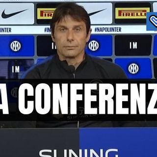 Crotone-Inter, rivivi la conferenza stampa di Conte in un minuto