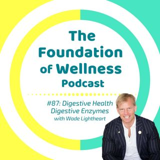#87: Digestive Health, Digestive Enzymes and HCL, w/ Wade Lightheart, BiOptimizers