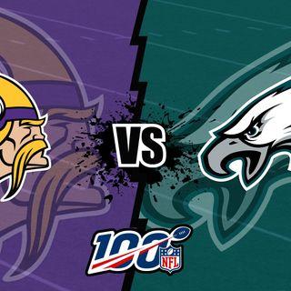 [38-7 Podcast] Predicting the Eagles and Vikings record, 2020 season
