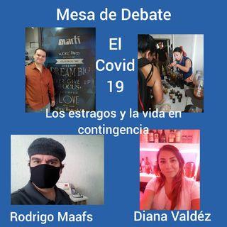 Mesa De Debate El COVID-19 Los Estragos Y La Vida En La Contingencia